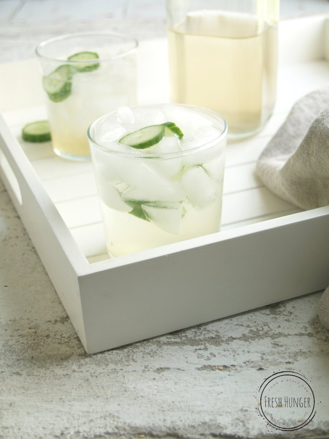 Ginger Cucumber Spritzers
