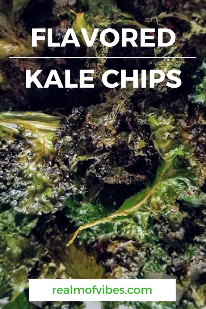 Flavored Kale Chips