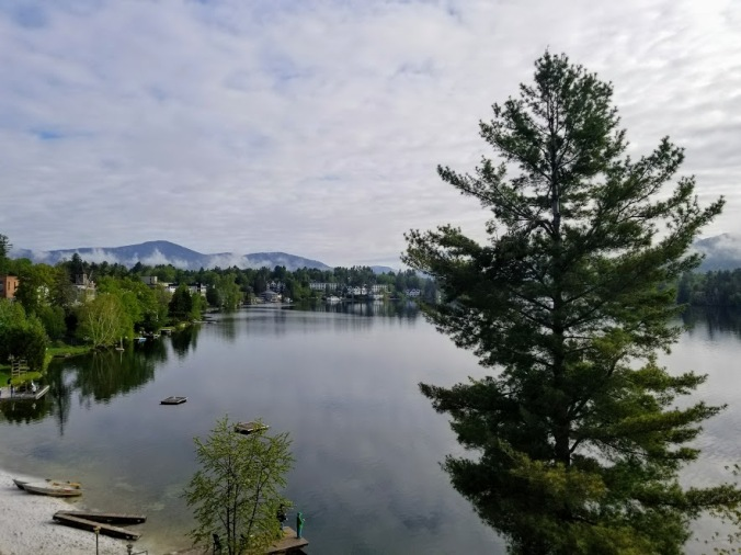 Lake Placid, NY Balcony View