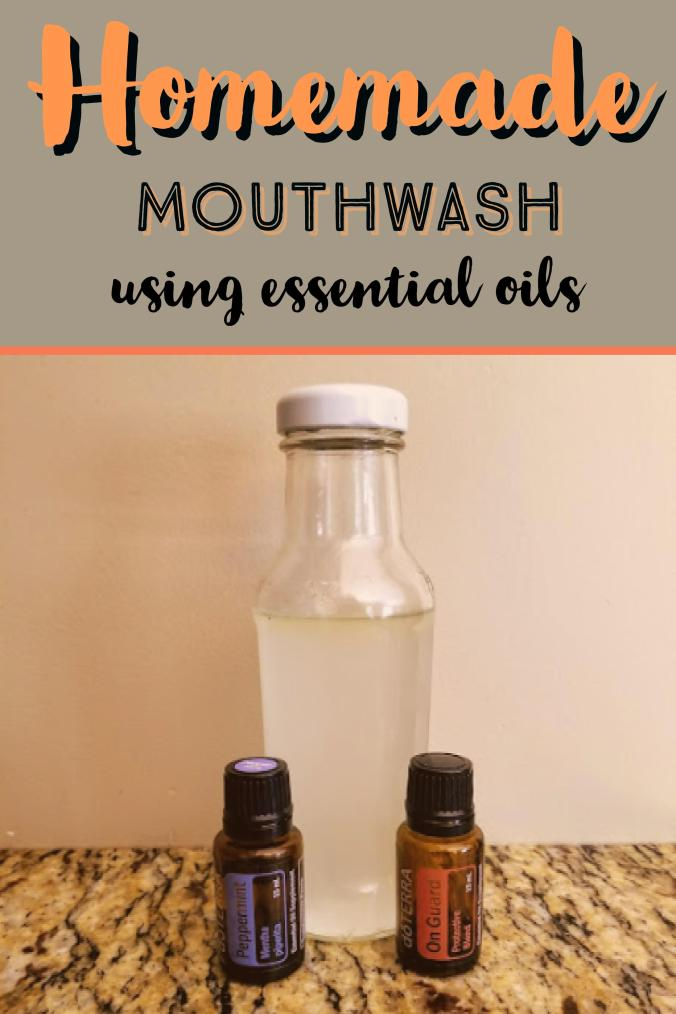 Homemade Mouthwash Using Essential Oils