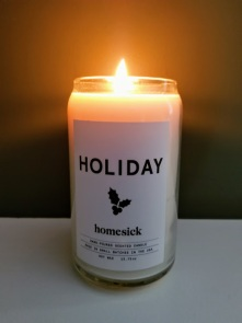 homesick holiday candle