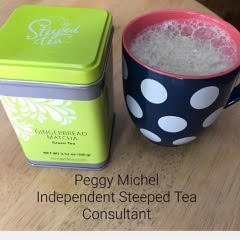 Steeped Tea Gingerbread Matcha