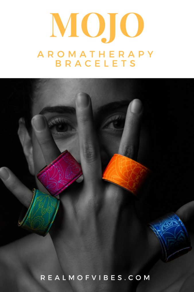 MOJO Aromatherapy Bracelets for Essential Oils