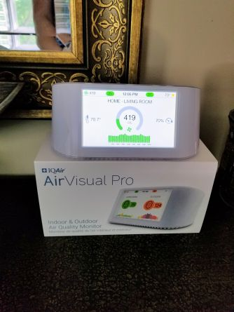 AirVisual Pro by IQAir - Air Quality Monitor